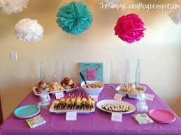 photo afternoon baby shower finger foods image