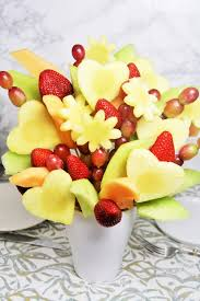how to make fruit arrangements diy fruit bouquet the tasty bite