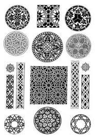 арабский орнамент arabic ornaments kaligraphi