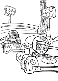 bubble guppies coloring pages character deema