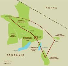 Tanzania Map Best Of Tanzania Migration Safari The Ohio State University