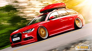 slammed audi a6 audi a4 sedan park japan plate number wide hd wallpaper claudio