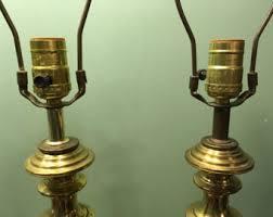 vintage brass lamp etsy