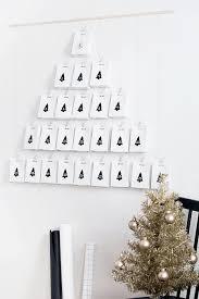 diy modern advent calendar homey oh my