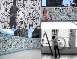 urban art wall mural videos lost art urban art wall mural videos