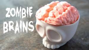 zombie brains cupcakes halloween treats youtube