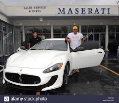 maserati ferrari steve martorano receives a delivery of his new maserati