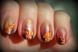 festive thanksgiving nail designs from mane n