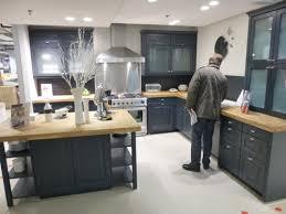 cuisine sur mesure darty meuble darty cuisine bleu gris idées de décoration capreol us