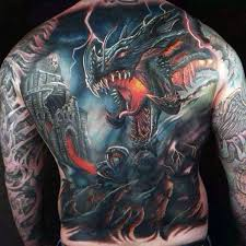 50 3d dragon tattoos for men mythical creature design ideas