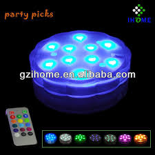 color changing submersible led lights remote controlled