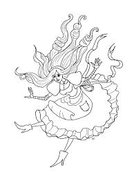 alice wonderland olivier return childhood coloring