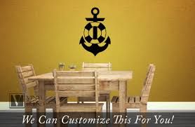 life saver preserver with ship anchor symbol nautical wall decor life saver preserver with ship anchor symbol nautical wall decor vinyl decal sticker grahpic art 2286