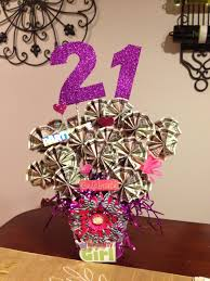 great gifts for birthday 21st birthday money basket great gift idea money tree