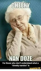 Cheeky Meme - cheeky nan doze for those who don t understand what a cheeky nandos
