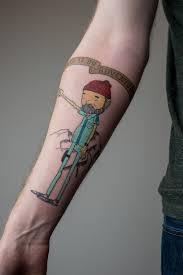 steve zissou tattoo