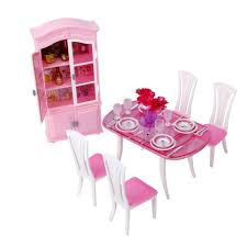 barbie dining room set barbie dining room diorama furniture dining room table chair