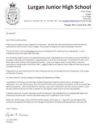 letter to parents june 2017 lurgan junior high
