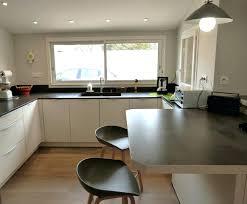 table cuisine plan de travail plan de travail table haute superb cuisine blanche avec plan de
