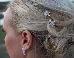 hair accessories perth starfish hair clip etsy