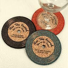 vinyl record cork coasters