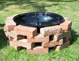 Brick Fire Pits by Diy Brick Fire Pit Fire Pit Ideas