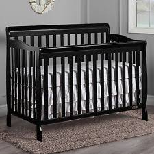 Black Convertible Cribs Convertible Crib Ebay