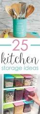 Kitchen Food Storage Ideas by 57 Best Organizing Your Kitchen Images On Pinterest Kitchen