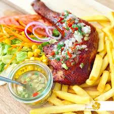 cuisine antillaise poulet boucané sauce chien je cuisine créole