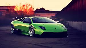 Lamborghini Murcielago 2004 - green lamborghini