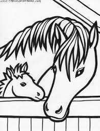 download coloring pages printable horse coloring pages free