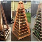 How To Build A Vertical Garden - how to make a modern space saving vertical vegetable garden