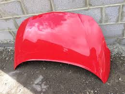 vauxhall pink vauxhall corsa e 2015 2016 2017 genuine front bonnet bumper
