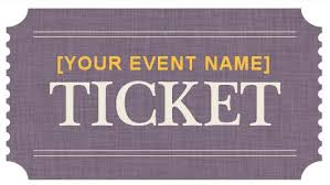 ticket template generic event ticket templates formal word templates