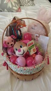 baby s easter gifts sugar stripe baby s easter basket easter 3