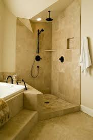 showers without doors open shower the kind of shower that