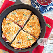thanksgiving leftovers quesadilla the cookie rookie