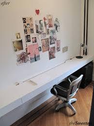 Floating Wall Desk Building A Custom Floating Desk