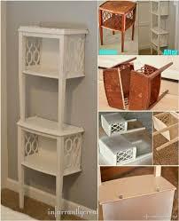 end table with shelves 50 diy shelves build your own shelves diy crafts