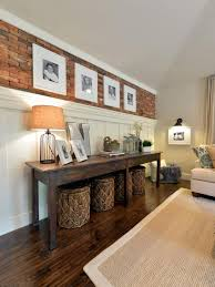 Living Room Console Tables Open Concept Boxy To Beautiful Bungalow Open Concept Basements