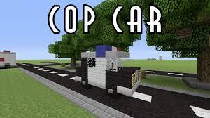 pixel art car minecraft vehicle tutorial cop car youtube