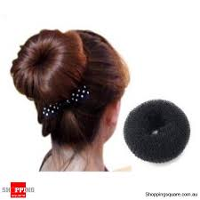 donut hair bun hair bun ring donut shaper hair styler online shopping