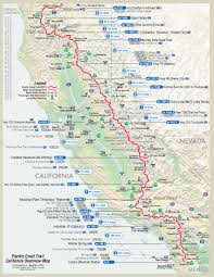 Pacific Northwest Map Pacific Crest Trail Map Hiking U0026 Camping Pinterest Pacific