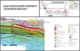Alexandria On A Map Alexandria Minerals Sleepy Property