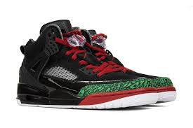 air jordan spizike black varsity red green u2013 feature sneaker