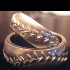 fields wedding rings best 25 baseball ring ideas on baseball wedding bands
