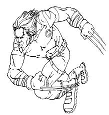 wolverine men coloring pages