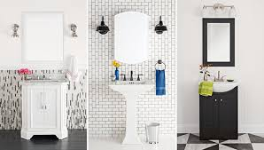 black and white bathrooms 3 bold black and white bathroom makeovers