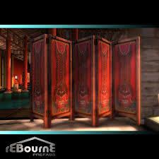 Antique Room Divider by Second Life Marketplace Rebourne Tibet Room Divider Mesh