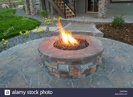 concrete fire pit exploding outdoor fire pit stock photos u0026 outdoor fire pit stock images alamy